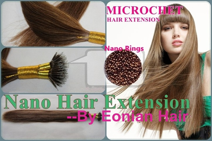 newest and most advanced hair extension system Nano Rings hair ...