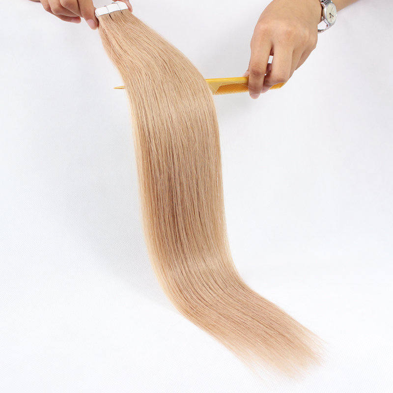 14 Tape Hair Extensions Pu Skin Weft Skin Weft Pre Taped Hair