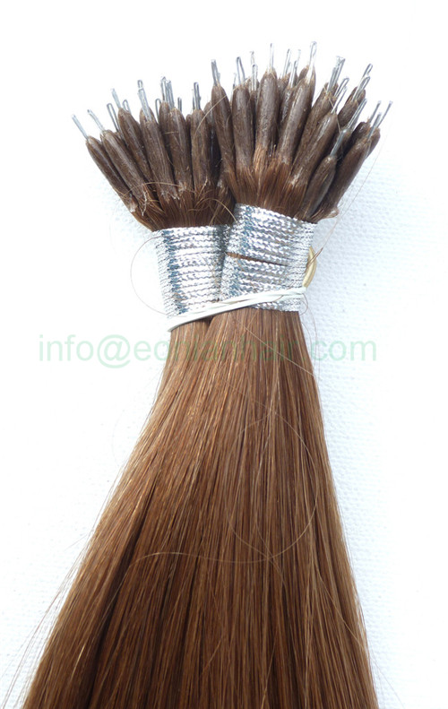 Nano Ring Hair Extension Brazilian Double Drawn 20 Xuchang
